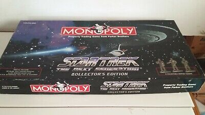 StarTrek The Next Generation Collectors Edition Monopoly Board Game