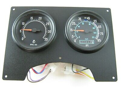 New Old Stock Black International Dash Cluster Speedometer / Tach. 1682005C91