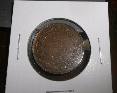Canada 1920 High Grade Large Cent Coin