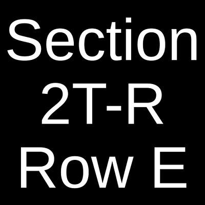 4 Tickets The Play That Goes Wrong  2/29/20 Indianapolis, IN