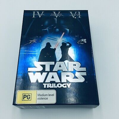 Star Wars Trilogy - Rare Theatrical Editions A New Hope Empire Strikes Back Jedi