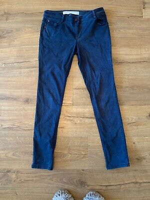 Next Skinny Soft Touch Jean Style Blue Trousers 12L