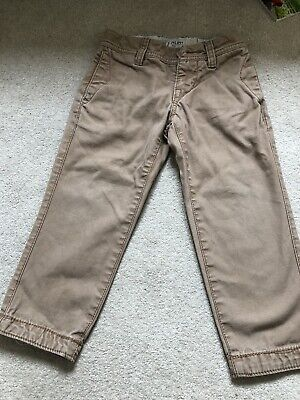Boys Fat Face Chino Trousers 4 Years