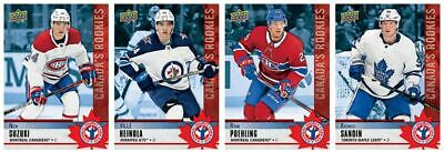 2020 National Hockey Card in Canada Set - 16 Cards and Checklist - Hughes