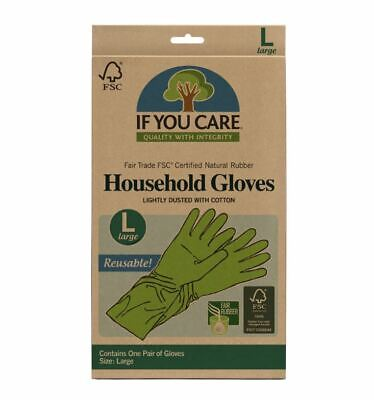 If You Care FSC FT Rubber Gloves Large (Pack of 12)