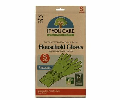 If You Care FSC FT Rubber Gloves Small (Pack of12)