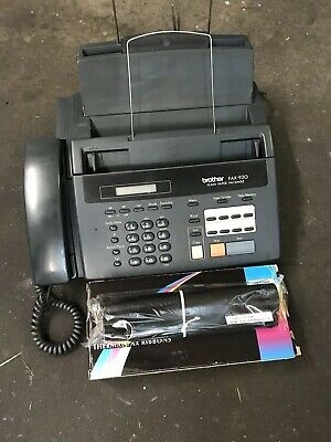 Fax Machine & Phone & Copier, Brother Fax-920
