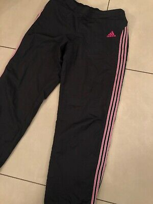 Womens Adidas Vtg Tracksuit Bottoms Sports Pants Gym Joggers Size 14