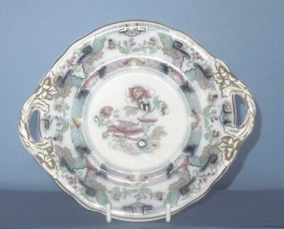 Copeland Tureen Stand with handles  (Welsh gaudy ?)  patt.8715 C.1847-67