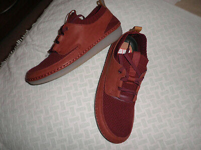 LADIES HOTTER COMBI ROUGE BOURGOGNE SHOES Sz UK 6