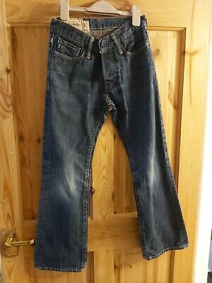 Kids Boys Abercrombie Jeans Blue Age 8 Tall