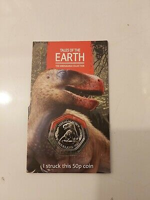 1st Strike Your Own Dinosaur Megalosaurus 2020 50p limited edition coin