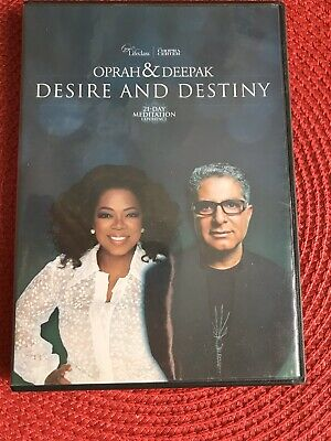 Oprah & Deepak - 21 Day Meditation Experience: Desire & Destiny, 6 CD Set