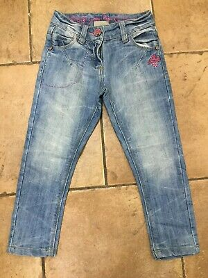 Next...girls Light Denim Jeans...age 4 Years...excellent Condition