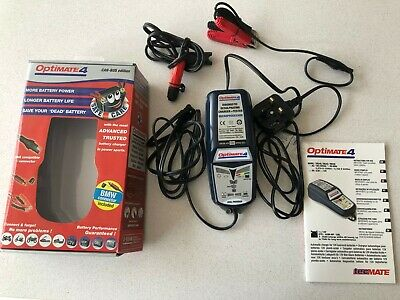 Optimate 4 Can Bus Bmw 12V Battery Saving Charger, Tester & Maintainer