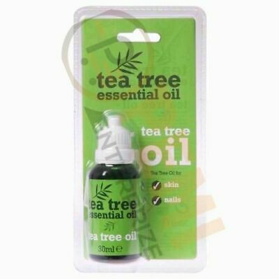 30ml Tea Tree Pure Essential Oil Bottle Antiseptic Anti Fungal Skin Nails