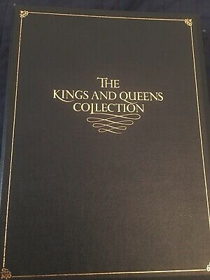 The Kings and Queens Gold  Medal/Coin Collection
