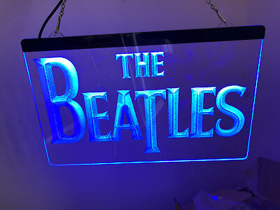 The Beatles Band Music Led Neon Sign for Game Room,Office,Garage,Bar,Gifts