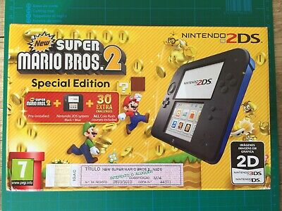 New Special Edition Nintendo 2DS Console Pokemon Sun Game Pre-Installed EUROPE