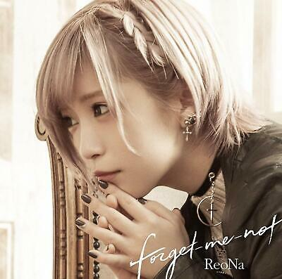 Anime Sword Art Online Ending Theme forget-me-not ReoNa 2019 CD New w/Tracking#