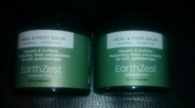Earthzest Organics Heal & Foot Balm x 2 60ml