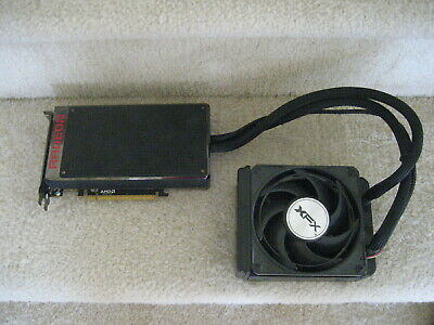 XFX AMD Radeon R9 Fury X 4GB HBM 3x DP HDMI Water-Cooled Video Graphics Card