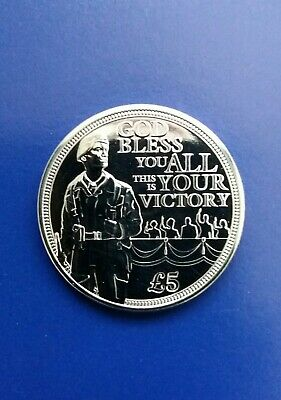 NEW 2020 BUNC £5 Coin - 75th Anniversary of VE Day, BUNC