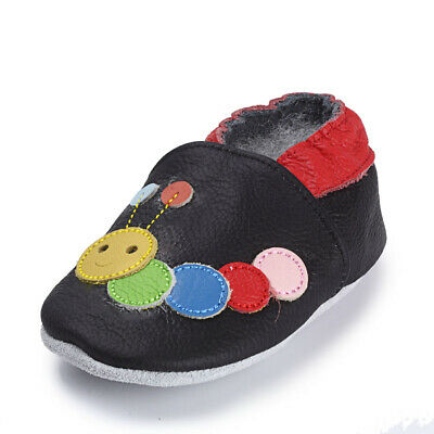 Baby Non-Slip Leather Toddler Soft  Baby Shoes First Walker Prewalker US Size2-5