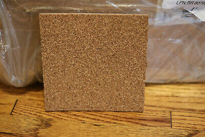 "70 Pcs Self Adhesive Cork Sheets 4""X 4"" For DIY Coasters Board Squares Tiles"