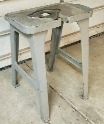 Vintage Cast Iron Legs Base Stand Steampunk Industrial Table Pedestal