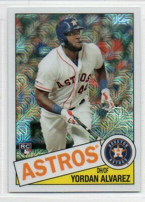 2020 Topps Series 1 1985 Topps Chrome Silver Pack Refractor - Pick Your Card