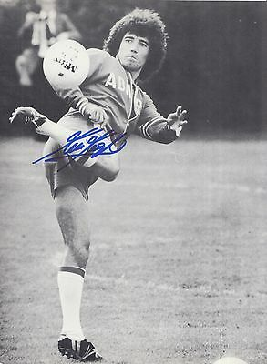 Kevin Keegan Hand Signed England Magazine Photo.