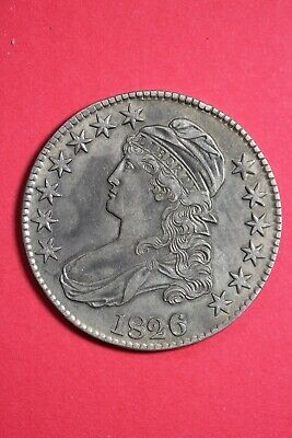High Grade 1826 Capped Bust Half Dollar Exact Coin Shown FREE Shipping OCE 51