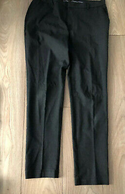 Marks And Spencer's Boys Charcoal Grey School Trousers - 36 Inches