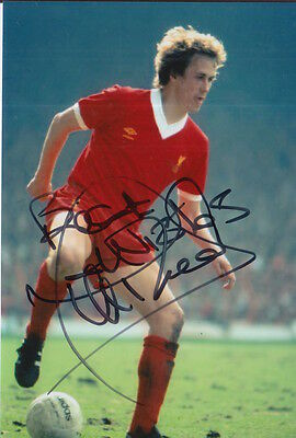 Liverpool Hand Signed Phil Neal 6X4 Photo 4.