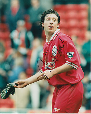Liverpool Hand Signed Robbie Fowler 10X8 Press Photo 1.
