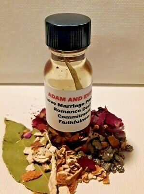 ADAM & EVE Love Oil Marriage Proposal Attraction Oil Commitment Wicca Oils