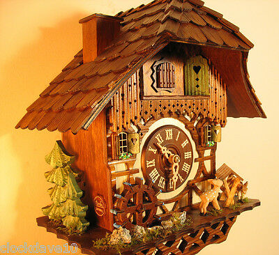 1 day Musical Cuckoo Clock Chimneysweep