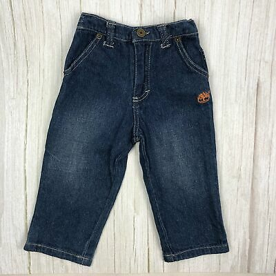 Timberland Toddler Elastic Backed Denim Jeans - Size 24M