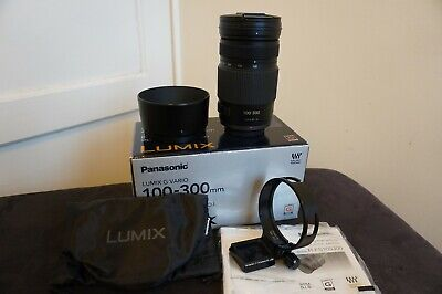 Panasonic LUMIX G Vario 100-300mm F/4.0-5.6 MEGA O.I.S. Lens plus Tripod Collar
