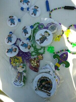 Lot of Krewe of Endymion Mardi Gras Parade Collectible beads