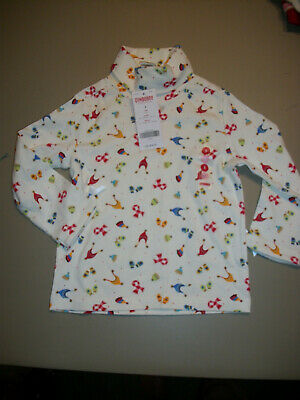 NWT Gymboree --Sugar N Spice--White Hats & Mittens T-Neck Top~~Size--3