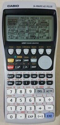 fx-9860G AU PLUS - graphics calculator