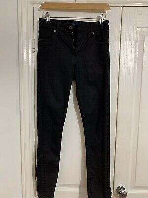 Ladies Black Levi 721 High Rise Skinny Jeans Size 26 Waist 30leg WORN ONCE!