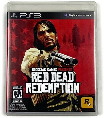 Red Dead Redemption PlayStation 3 PS3 Complete
