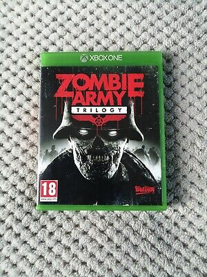 Zombie Army Trilogy - Xbox One Game In Excellent Condition Throughout + Flyers