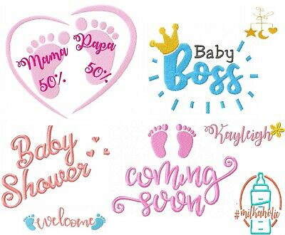 Baby Embroidery Designs On Usb Pes Format