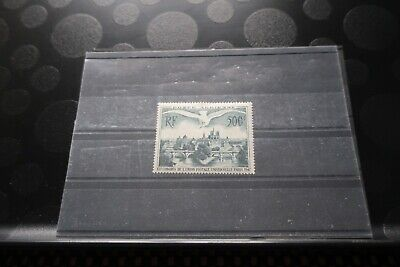Superbe Timbre Poste Aerienne France N° 20 Neuf Charniere Tres Legere Annee1947