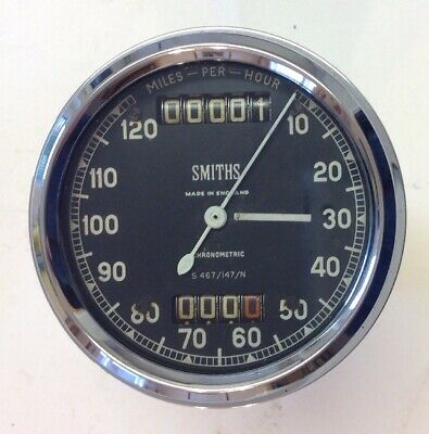 Smiths Chronometric Speedometer Norton International, Es2