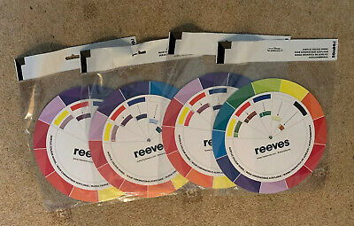 4 Reeves Acrylic Colour Wheels